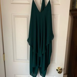 Charlotte Russe emerald Green Party dress